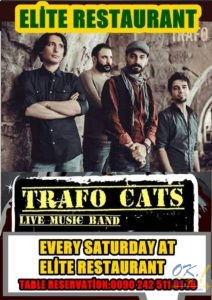 Live music — Trafo Cats в Elite Restaurant Alanya @ Elite Restaurant Alanya